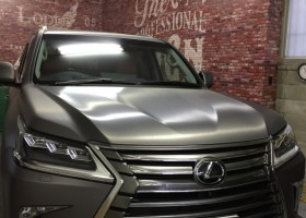 Lexus LX570 フルカーラッピング 施工写真