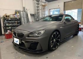 BMWフルラッピング 施工写真